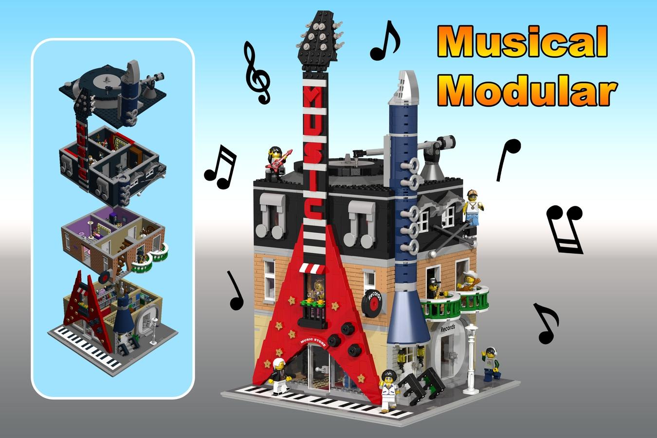 lego-ideas-musical-modular-okay zusammengebaut.com