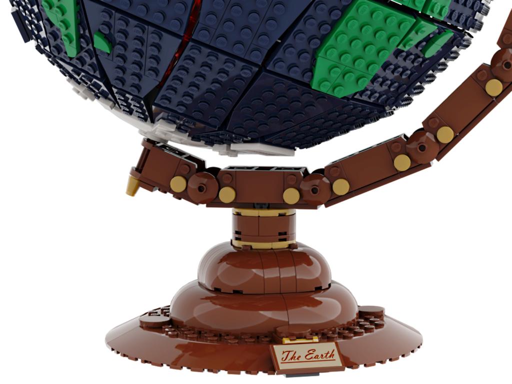 lego-ideas-the-earth-globe-disneybrick55-3 zusammengebaut.com