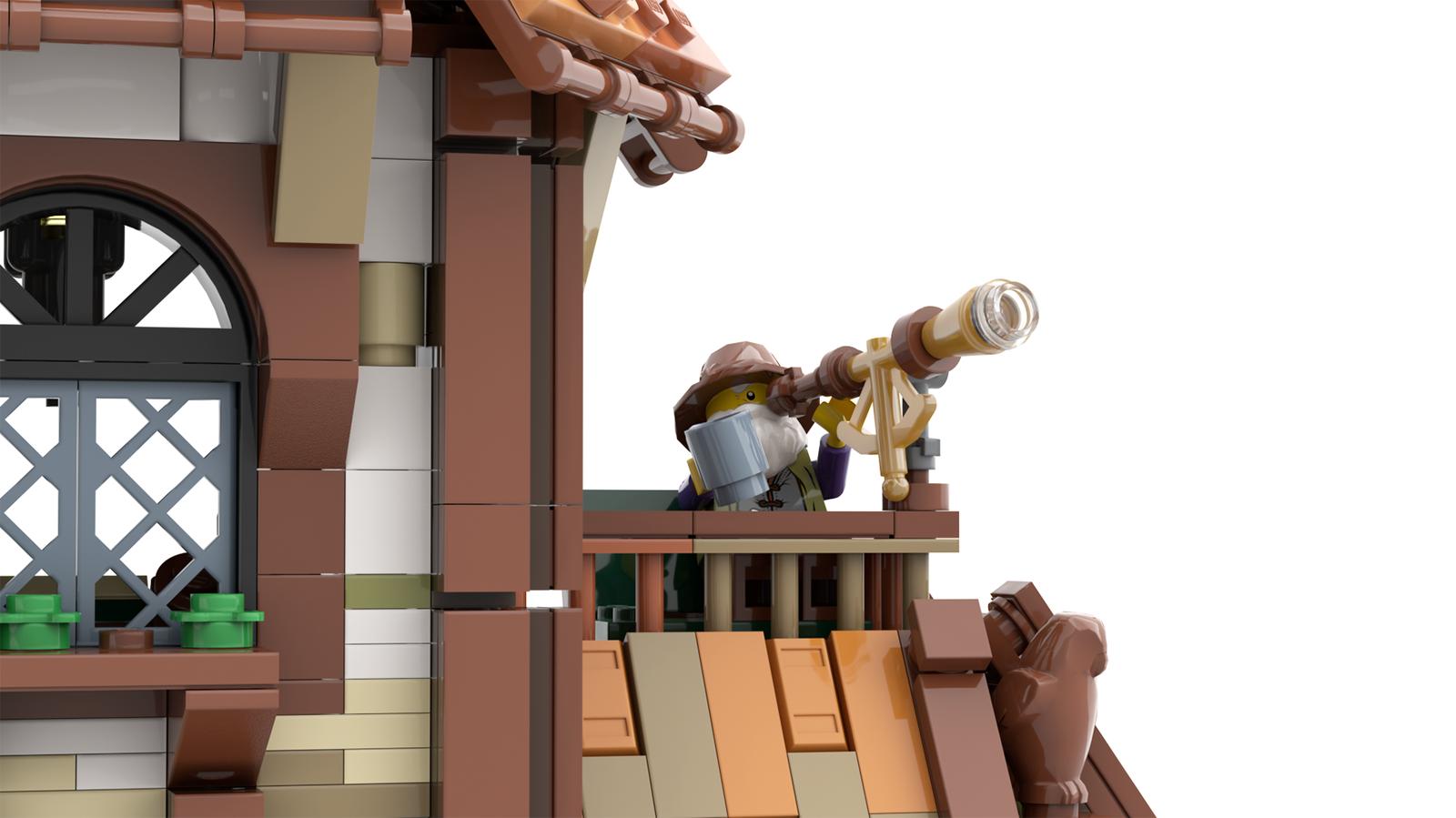 lego-ideas-the-mountain-windmill-hanwasyellowfirst-6 zusammengebaut.com