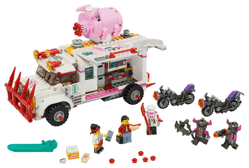lego-monkie-kid-80009-pigsys-food-truck-2020-inhalt zusammengebaut.com