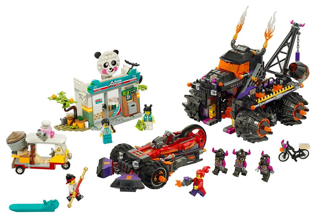 lego-monkie-kid-80011-red-sons-inferno-truck-2020-inhalt zusammengebaut.com