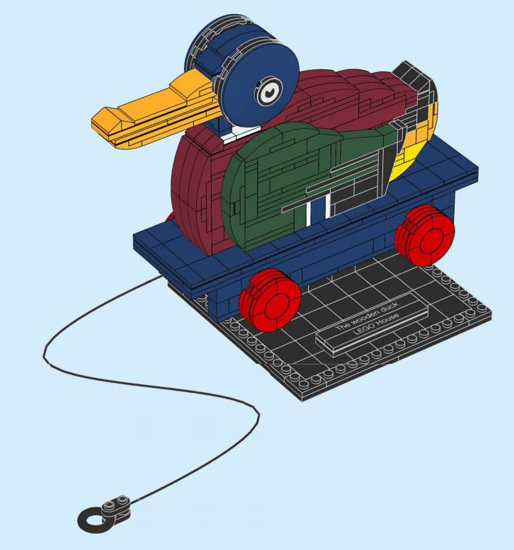 40501-lego-house-holzente-anleitung zusammengebaut.com