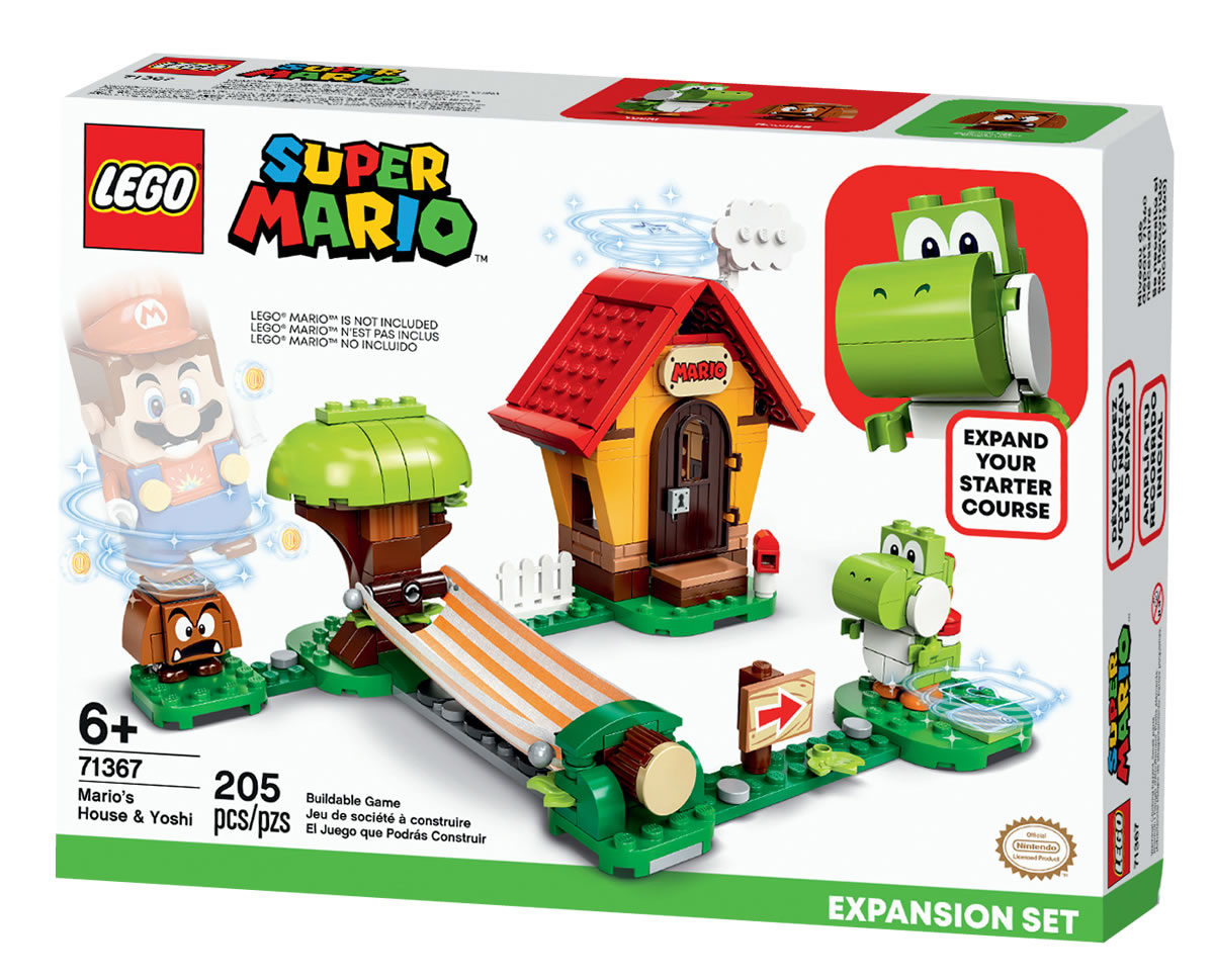 71367-lego-super-mario-house-yoshi-expansion-set-2020 zusammengebaut.com