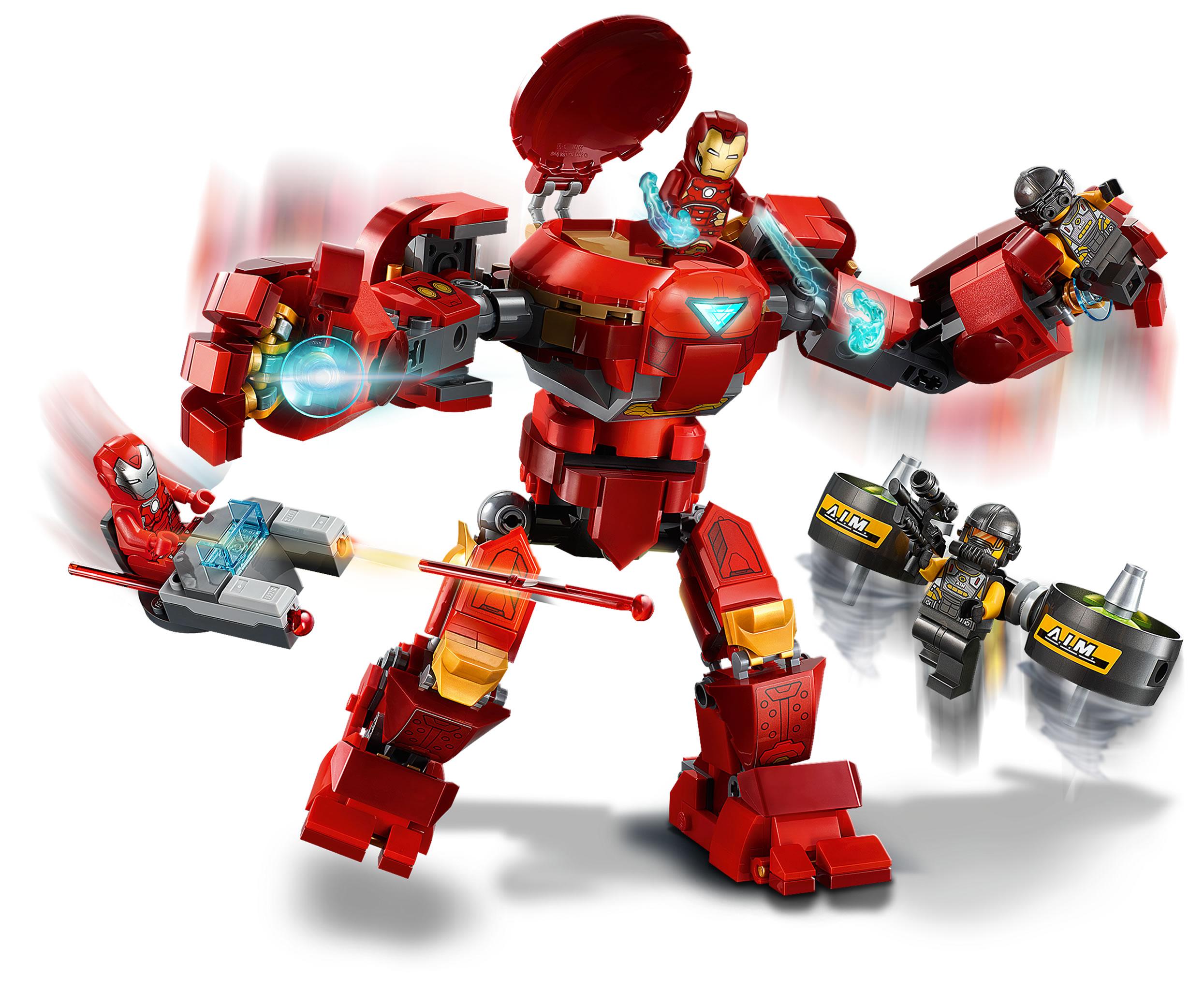 76164-lego-marvel-iron-man-hulkbuster-versus-aim-agent-2020-1 zusammengebaut.com