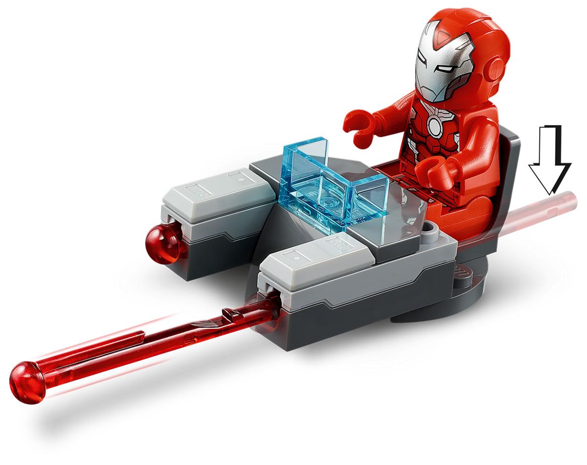 76164-lego-marvel-iron-man-hulkbuster-versus-aim-agent-2020-2 zusammengebaut.com