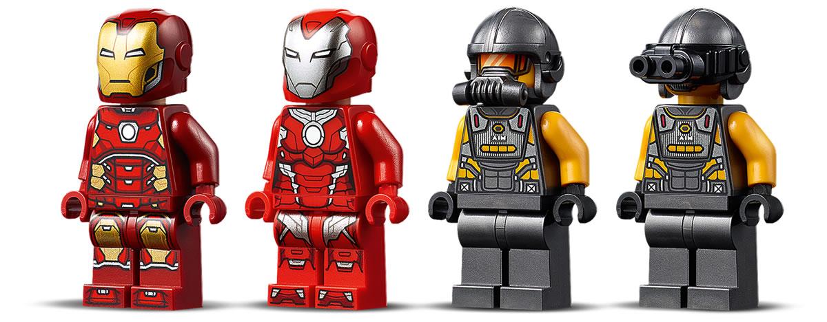 76164-lego-marvel-iron-man-hulkbuster-versus-aim-agent-2020-3 zusammengebaut.com