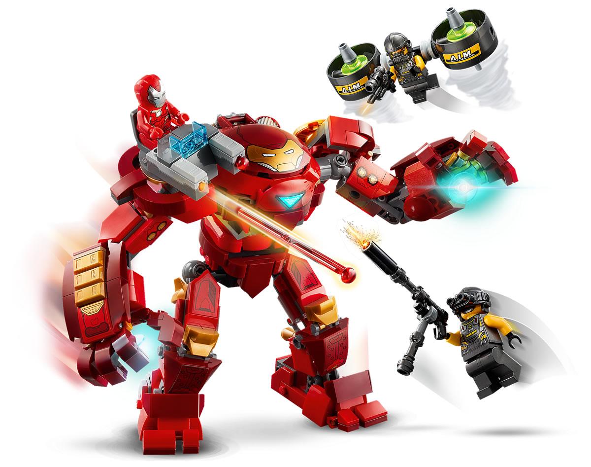 76164-lego-marvel-iron-man-hulkbuster-versus-aim-agent-2020-4 zusammengebaut.com