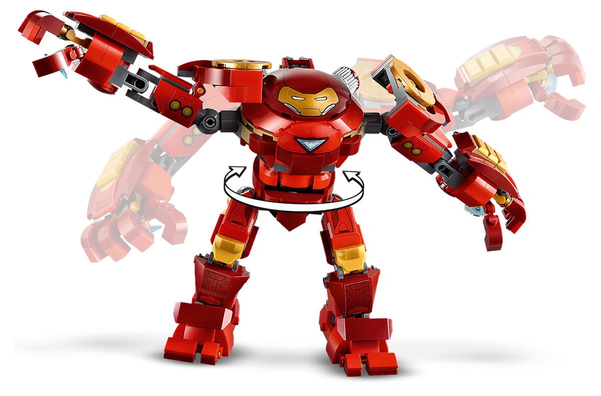 76164-lego-marvel-iron-man-hulkbuster-versus-aim-agent-2020-5 zusammengebaut.com