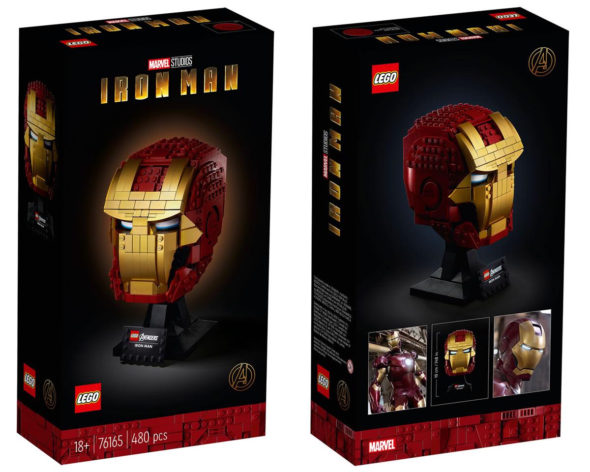 76165-lego-marvel-iron-man-helm-2020-box zusammengebaut.com