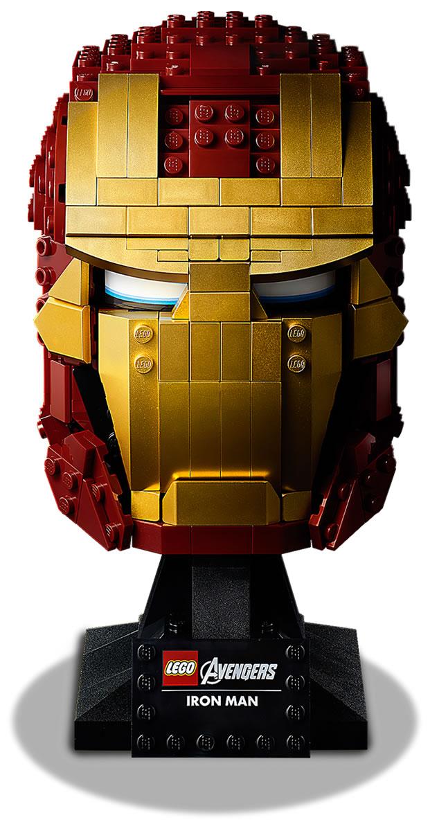 76165-lego-marvel-iron-man-helm-2020 zusammengebaut.com