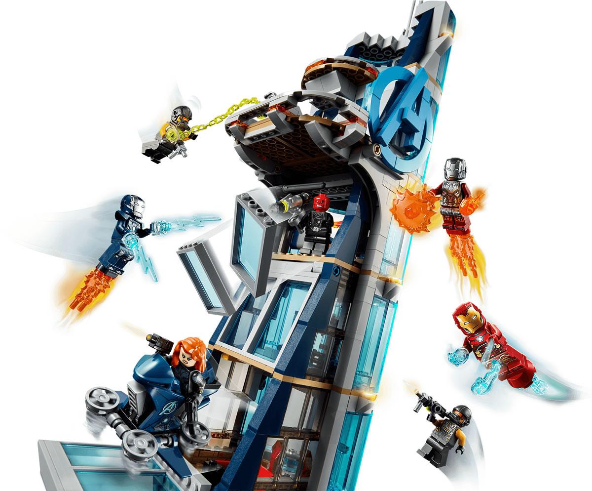 76166-lego-marvel-avengers-tower-turm-2 zusammengebaut.com