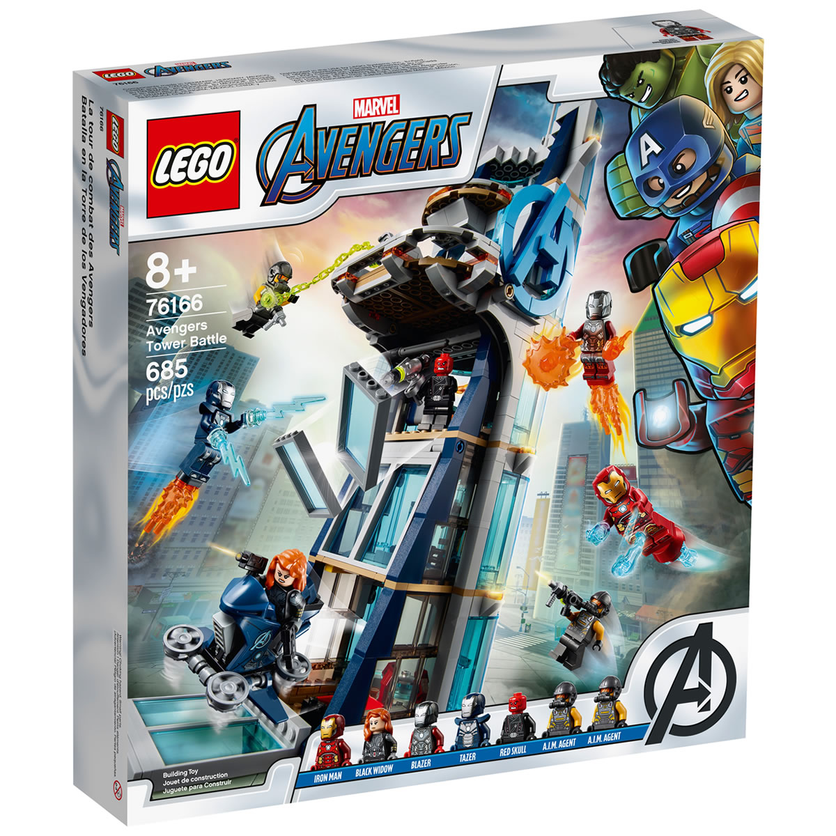 76166-lego-marvel-avengers-tower-turm-box zusammengebaut.com