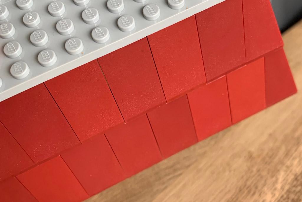 LEGO ® Minifiguren Zubehör Sammelserie Wanuhr Uhr in braun