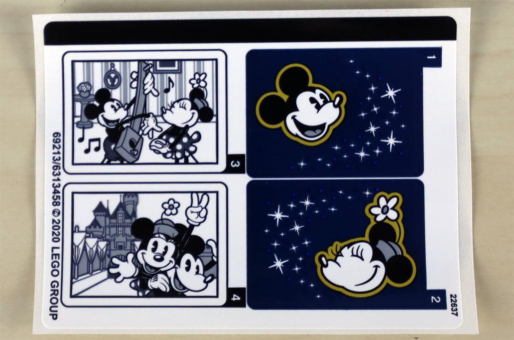 lego-43179-disney-mickey-mouse-minnie-mouse-unboxing-2020-zusammengebaut-andres-lehmann-sticker-bogen zusammengebaut.com