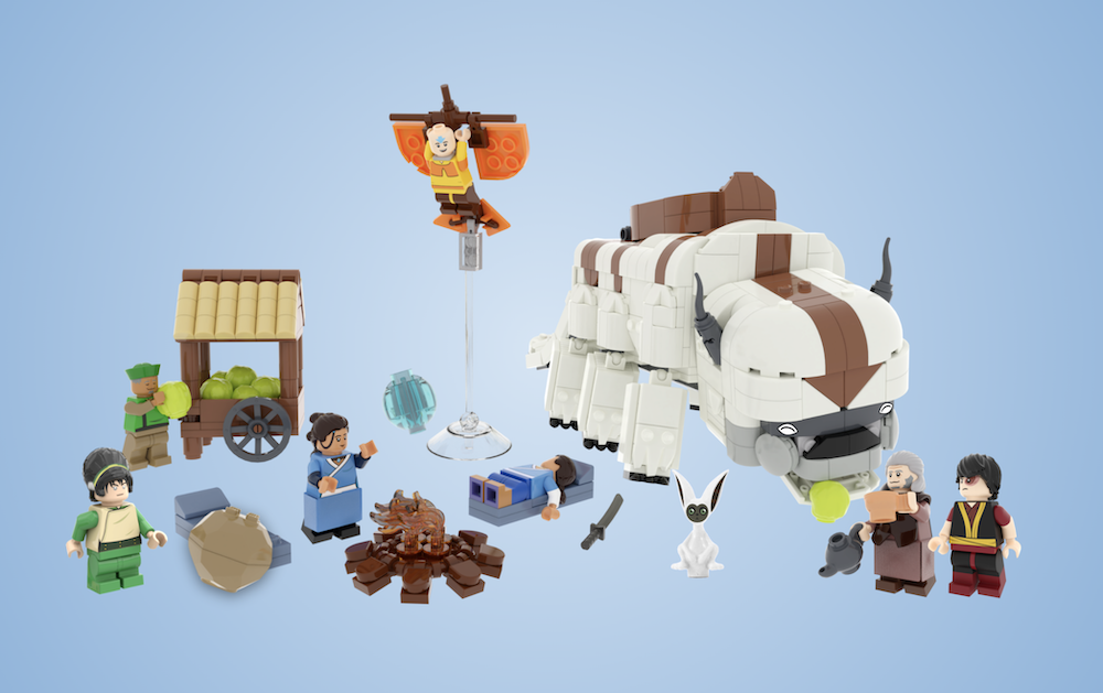 lego-ideas-avatar-the-last-airbender-mMinibrick-productions-2020-7 zusammengebaut.com