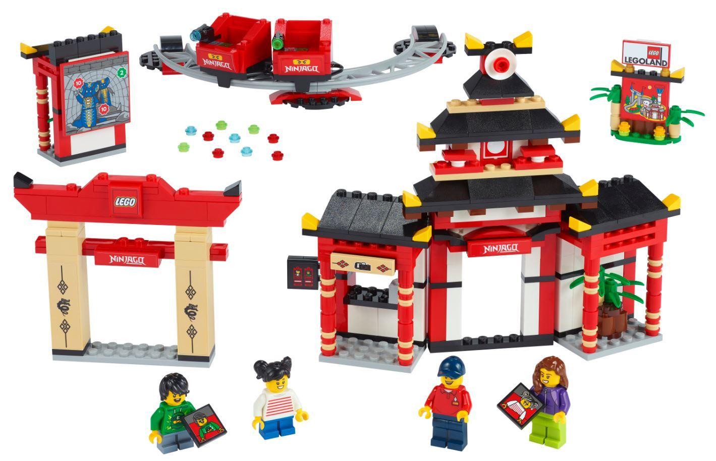 LEGO LEGOLAND 40429 Ninjago World: Ein Stück Park für zu Hause