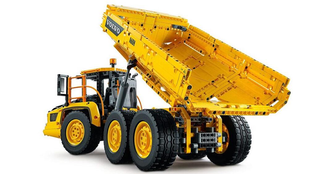 lego-technic-42114-knickgelenkter-volvo-dumper-6-6-2020-inhalt-4 zusammengebaut.com