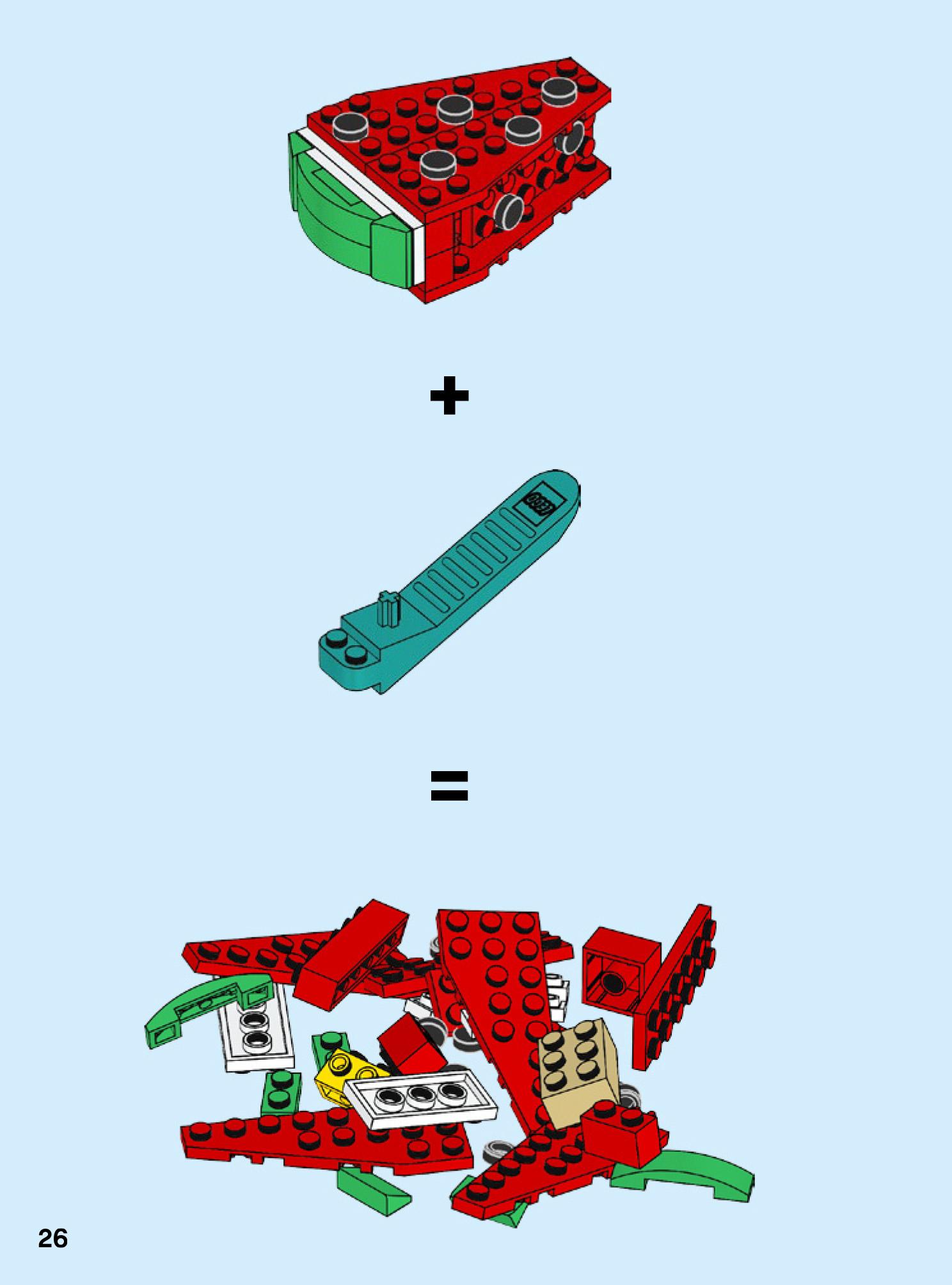 wassermelone-lego zusammengebaut.com