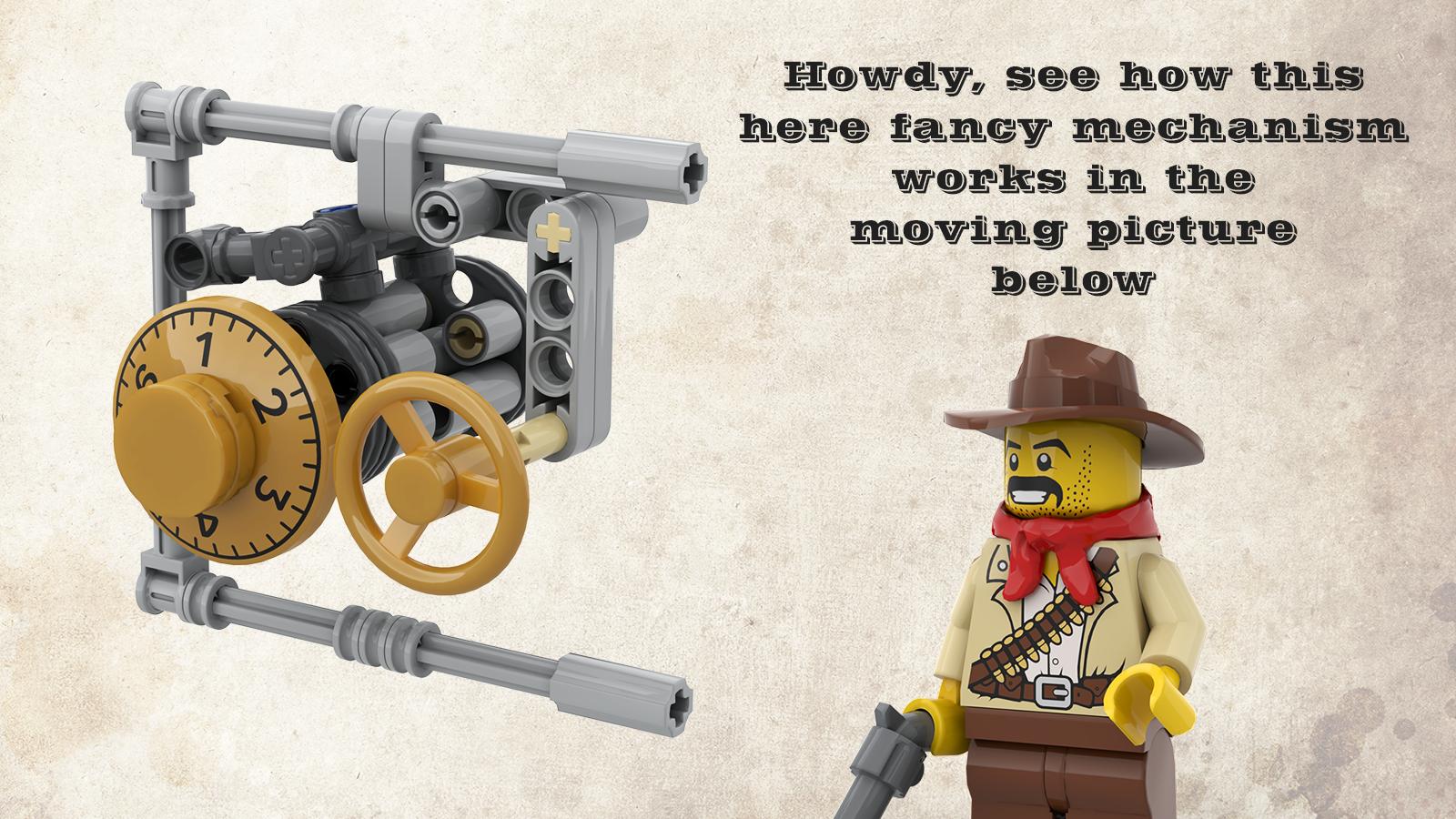 LEGO Ideas: Sheriffs Safe with Combination Lock erreicht 10.000 Unterstützer