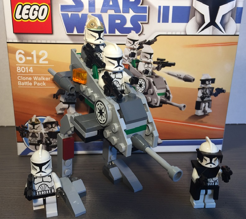 LEGO 8014 Clone Walker Battle Pack | © Felix Koch