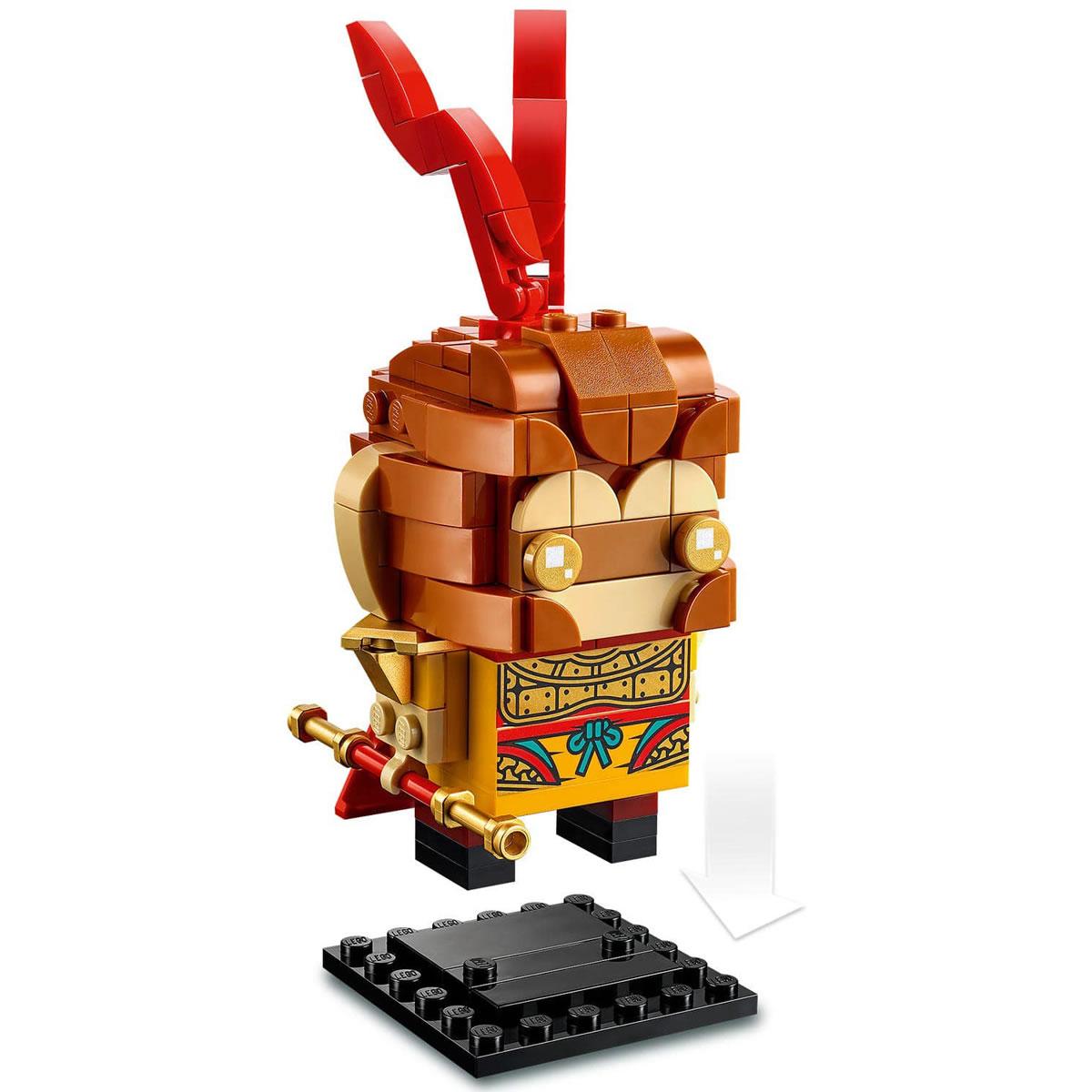 lego-40381-brickheadz-monkey-king-2020-1 zusammengebaut.com