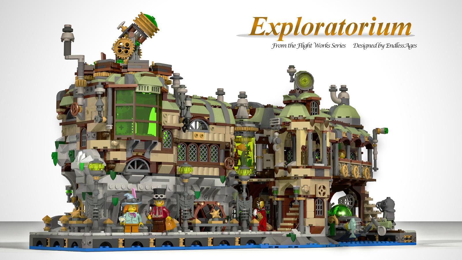 lego-ideas-exploratorium-endlessages zusammengebaut.com