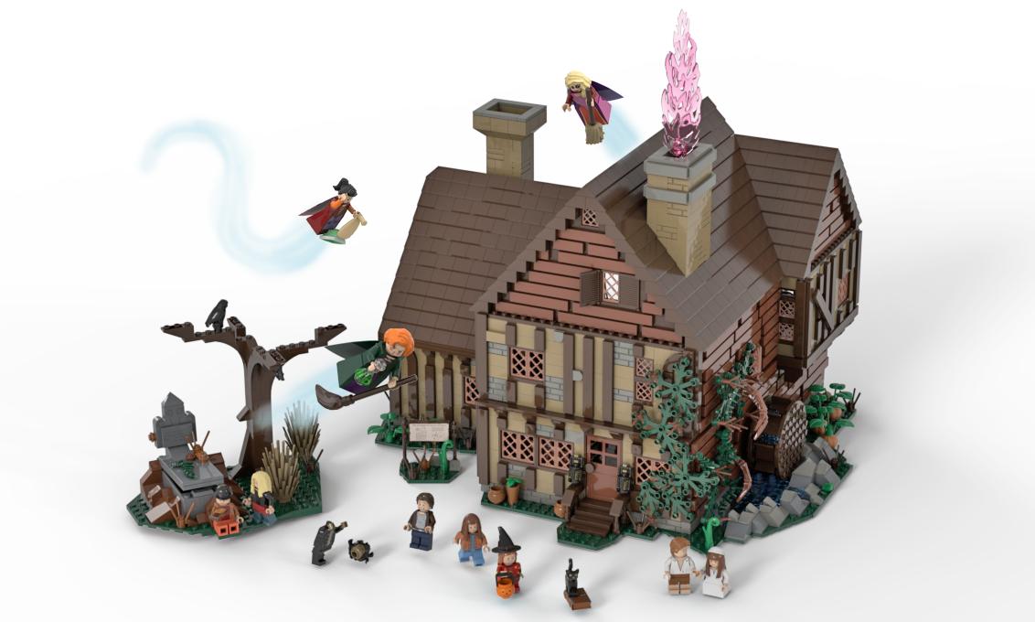 lego-ideas-hocus-pocus-sanderson-sisters-cottage-theambrinator-1 zusammengebaut.com