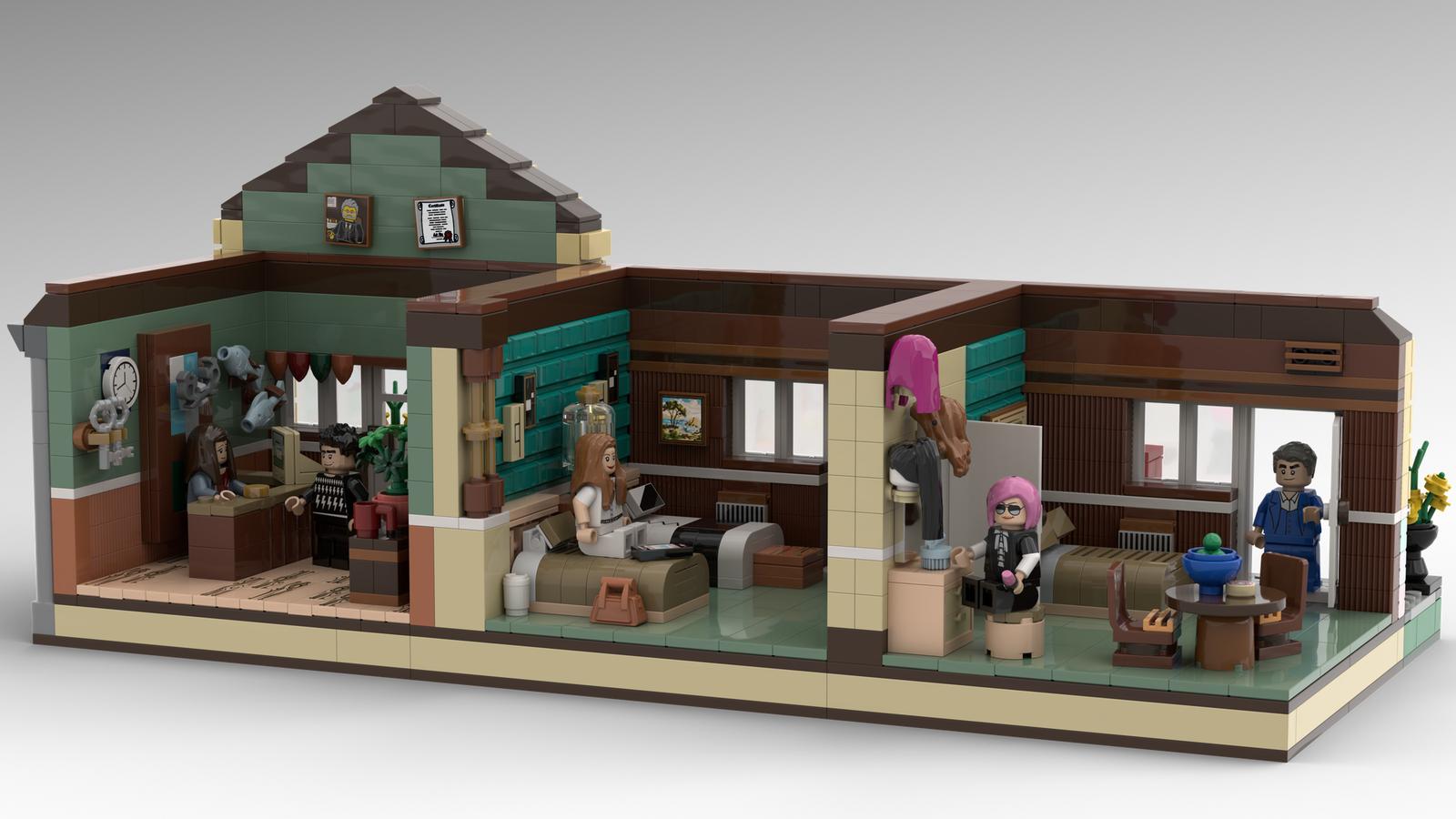 lego-ideas-schitts-creek-the-rosebud-motel-seemarkgeek-2 zusammengebaut.com