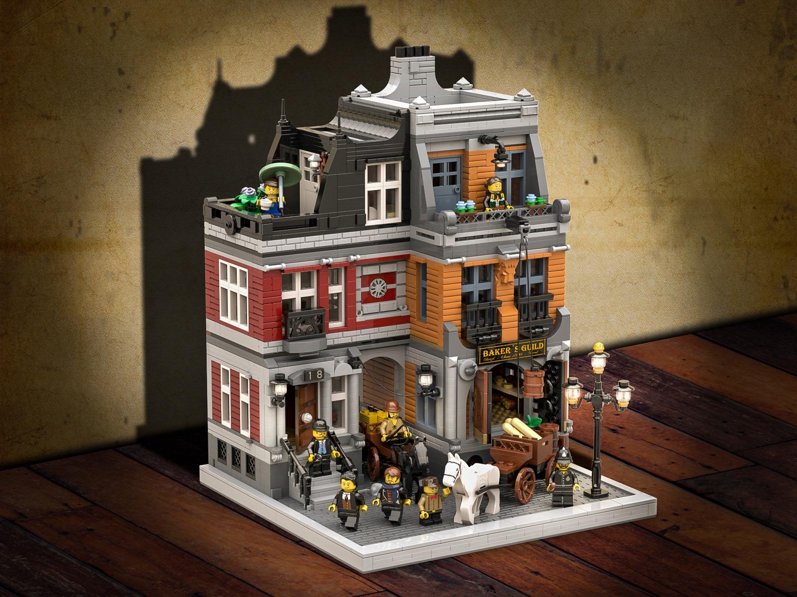 lego-ideas-the-bakery-historische-baeckerei-paoko-sanchez zusammengebaut.com