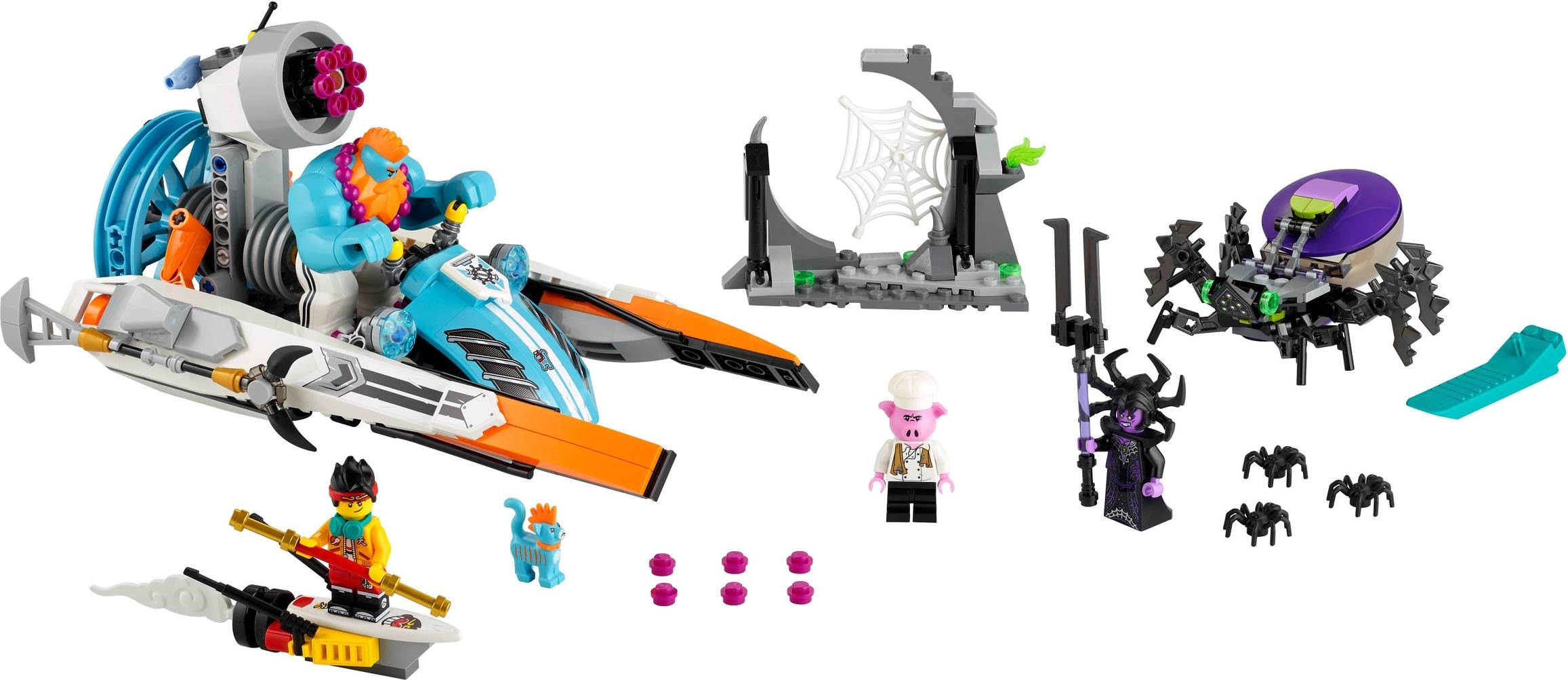 lego-monkie-kid-80014-inhalt zusammengebaut.com