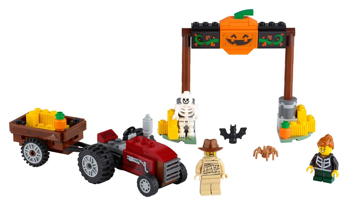 lego-seasonal-40423-heufahrt-halloween-inhalt-2020 zusammengebaut.com