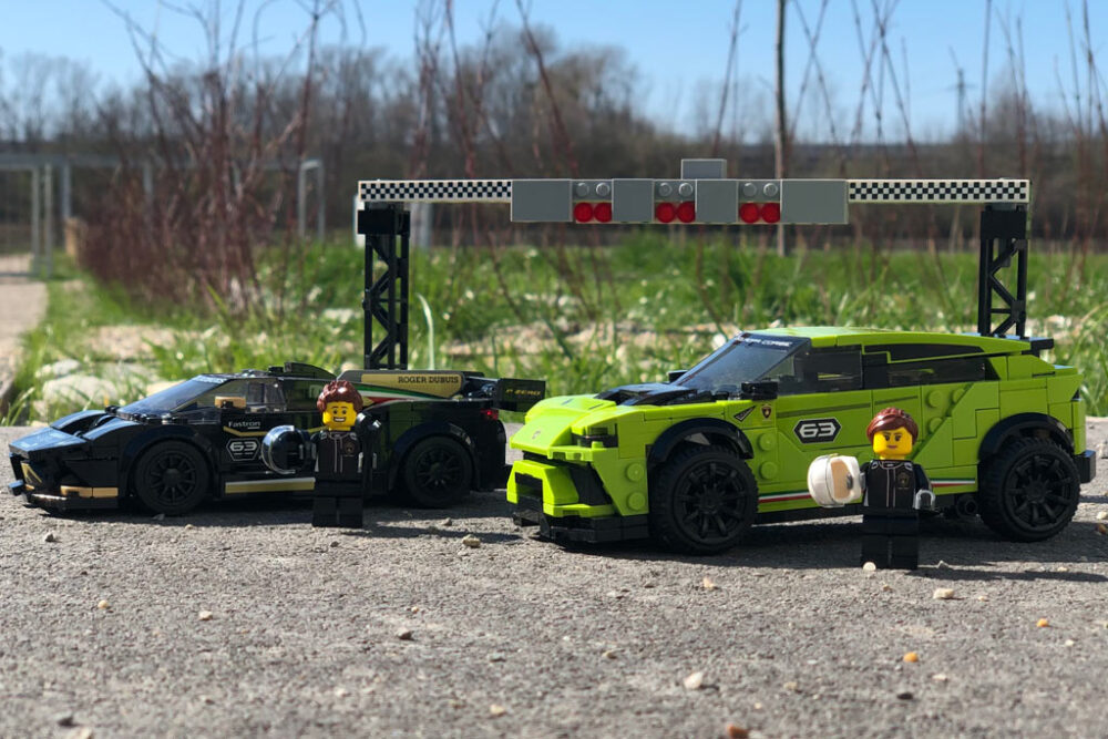 Lego Speed Champions 76899 Lamborghini Urus St X Lamborghini Huracán Super Trofeo Evo Im Review