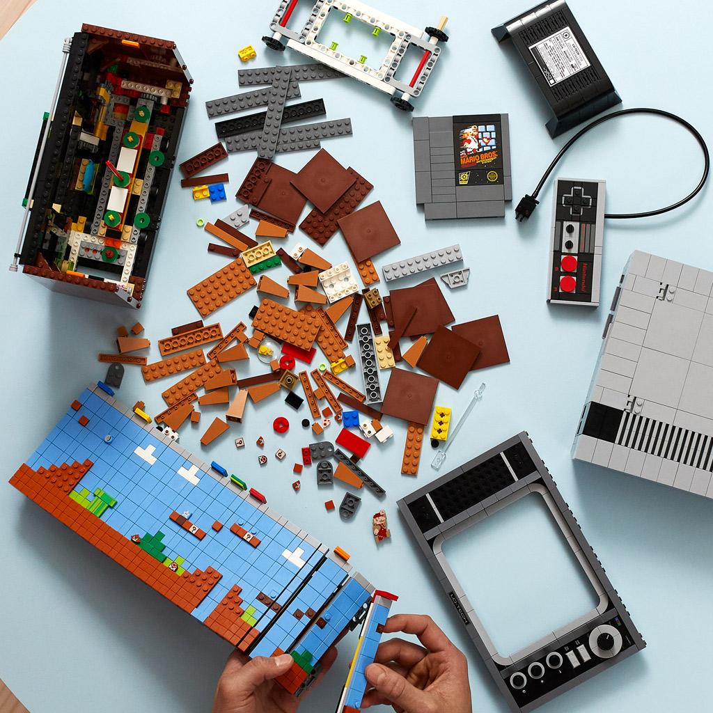lego-super-mario-71374-nintendo-entertainment-system-nes-zusammenbau-2020 zusammengebaut.com