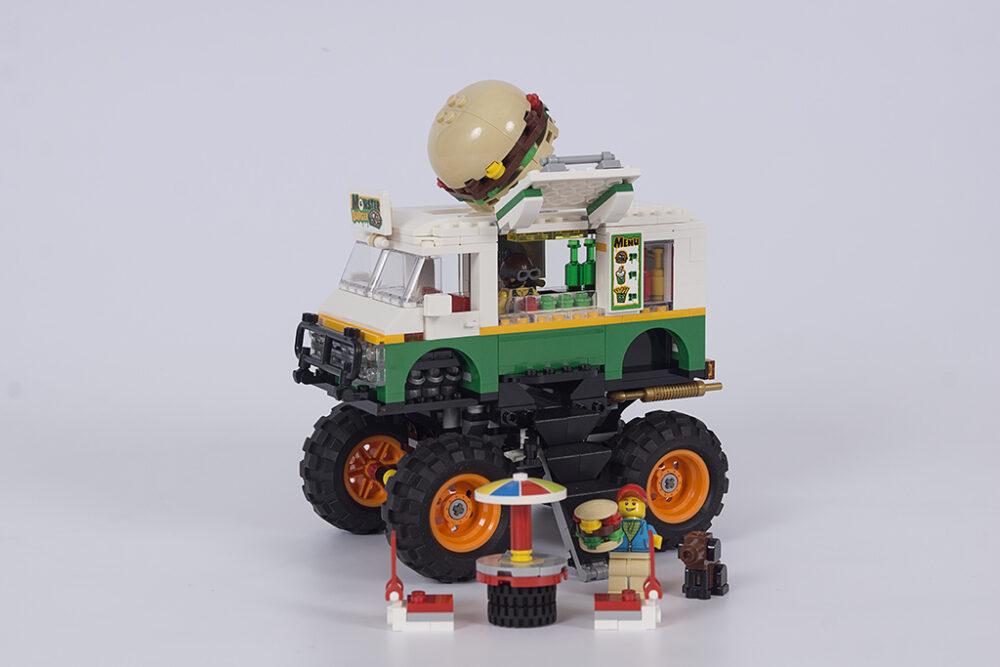 LEGO Creator 3-in-1 31104 Burger-Monster-Truck
