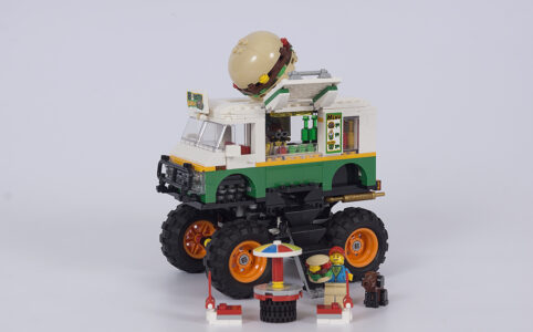 LEGO Creator 3-in-1 31104 Burger-Monster-Truck