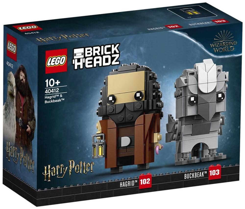 Lego Harry Potter Winkelgasse Gewinnspiel Gewinne Brickheadz 40412 Hagrid Und Seidenschnabel