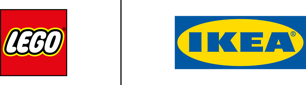 lego-Ikea-logo zusammengebaut.com
