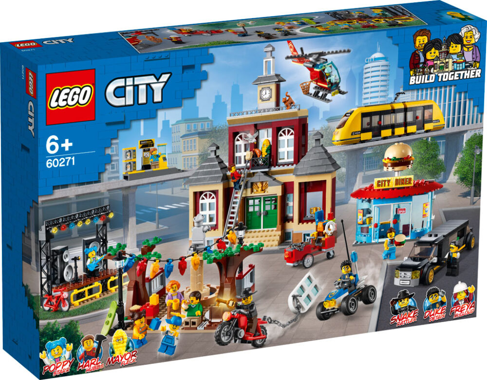 lego city 60271 city main square box front 2020