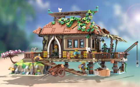 lego-ideas-the-ocean-house-hanwasyellowfirst zusammengebaut.com