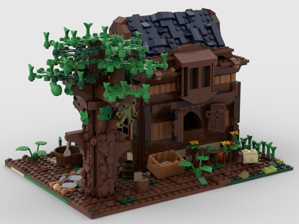 lego-moc21318-modular-medieval-house-alternative-build-rebrickable-gabizon-4 zusammengebaut.com