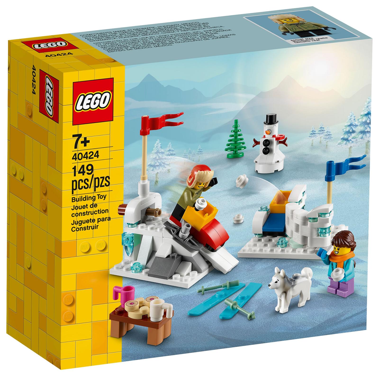 lego-seasonal-40424-winter-snowball-fight-schneeballschlacht-2020 zusammengebaut.com