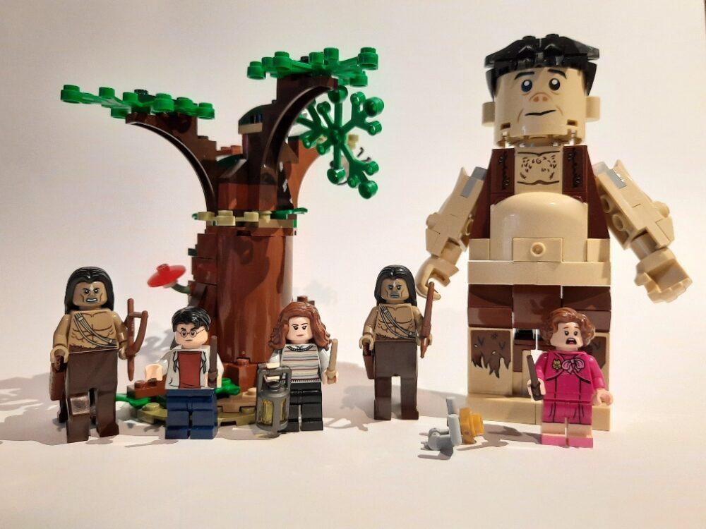 Lego Harry Potter 75967 Der Verbotene Wald Begegnung Mit Umbridge Im Review Zusammengebaut