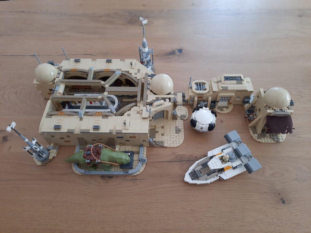 LEGO Star Wars 75290 Mos Eisley Cantina Draufsicht