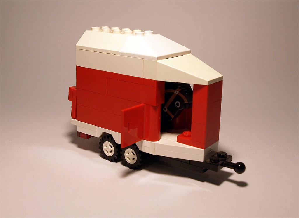 Sicherer Transport für unser Rennpferd!