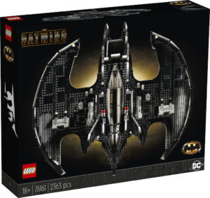 LEGO Batman 76161 1989 Batwing Box