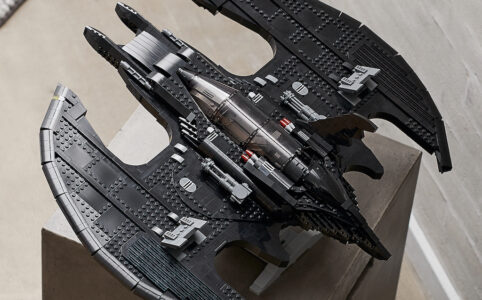 LEGO Batman 76161 1989 Batwing Draufsicht Set