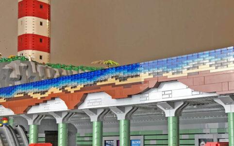 U-Bahn LEGO World Stein auf Stein Stadt