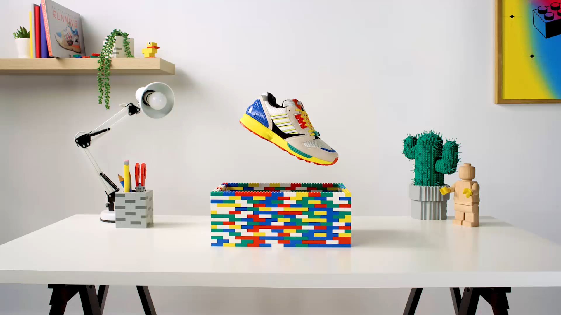 Adidas LEGO ZX 8000 Silhouette Sneakers