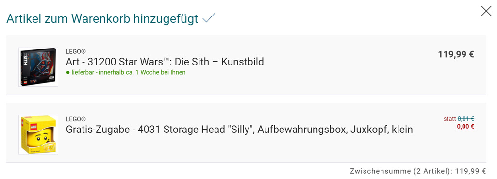 kaufhof-warenkorb zusammengebaut.com