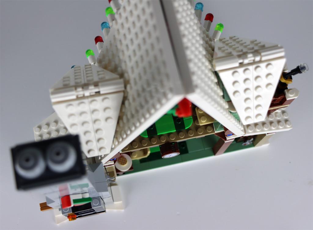 LEGO 18+ 10275 Elfen-Klubhaus Überflug